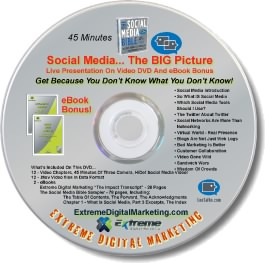 Social Media, The BIG Picture DVD