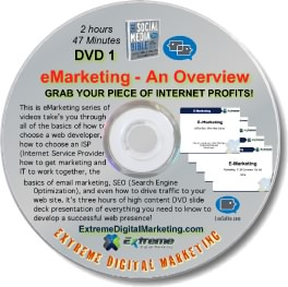 E-Marketing Overview DVD