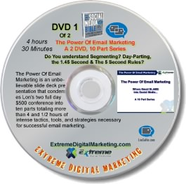 Email Marketing DVD